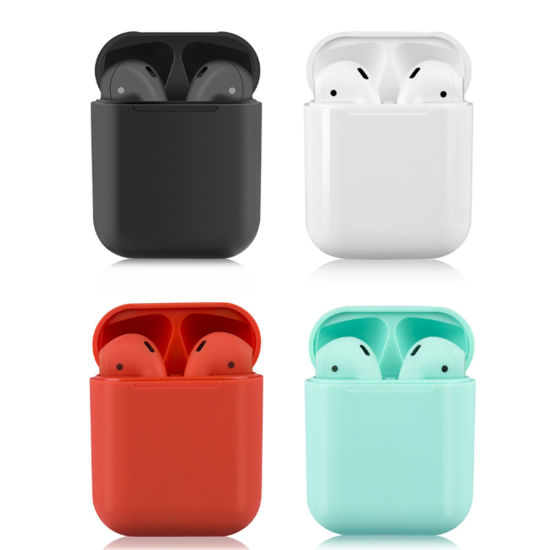 Tws 12 I12 Tws Wireless Bluetooth Earbuds Sport Headset Touch Pop-up Stereo Mini Earphone