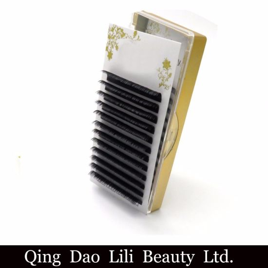 7857f1ff43b Individual Extensions Matte Korean PBT Fiber Lashes Silk Eyelash Extensions  pictures & photos