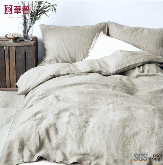 100% Linen Hometextile Bedding Sets