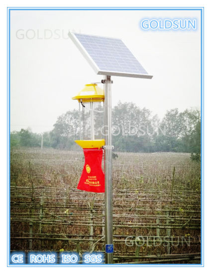 Solar Agriculture Insect Killer Lamp, Pest Control Lamp, Chinese Manufacturer pictures & photos