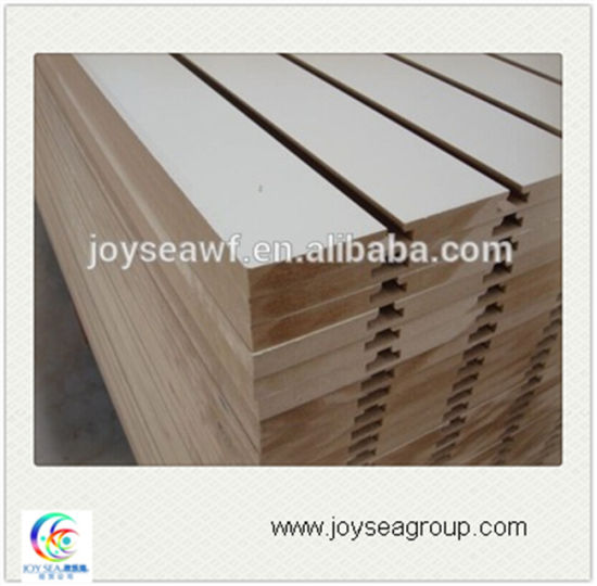Slotted MDF Panel for Table and Other Furniture pictures & photos