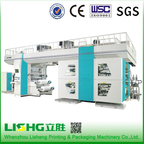 Six Colors High-Speed Flexo Printing Machine pictures & photos