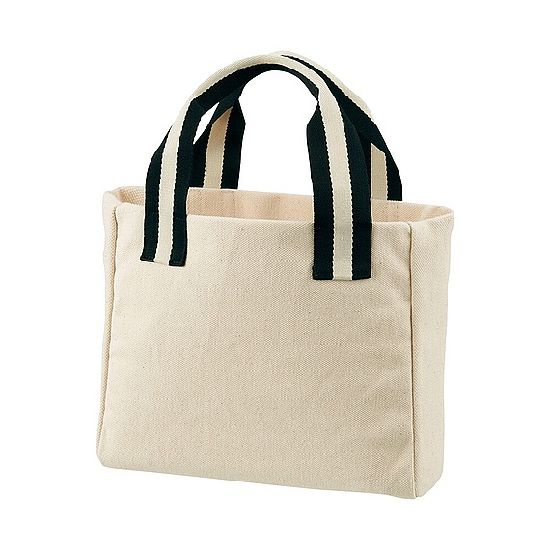 50370c60f18 Mini Heavy Canvas Tote Bag with Customized Handle