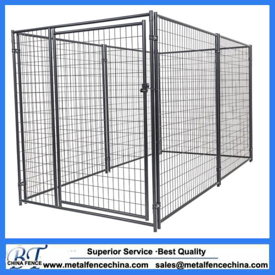China Heavy Duty Galvanized Welded Wire Kennel Panel - China Iron ...