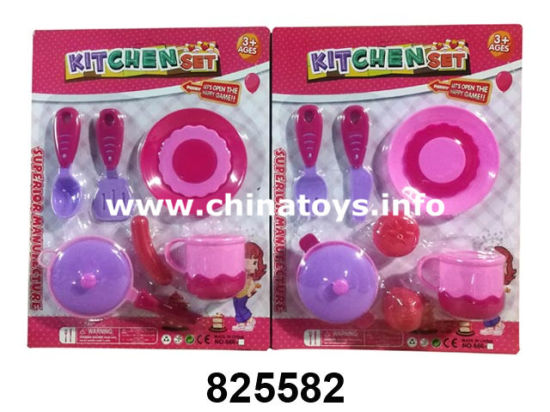 Educational Toys Kitchen Set, Cooking Tea Toy (825574) pictures & photos