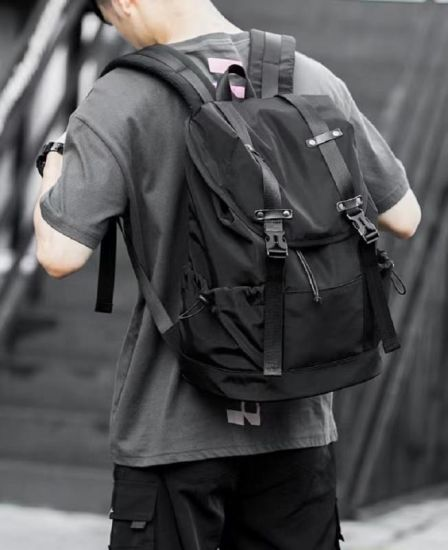 Backpacks for Men Women College School Style Unisex Shoulder Bag Waterproof High Quality Oxford Fabric Office Travelling Backpack Esg17185