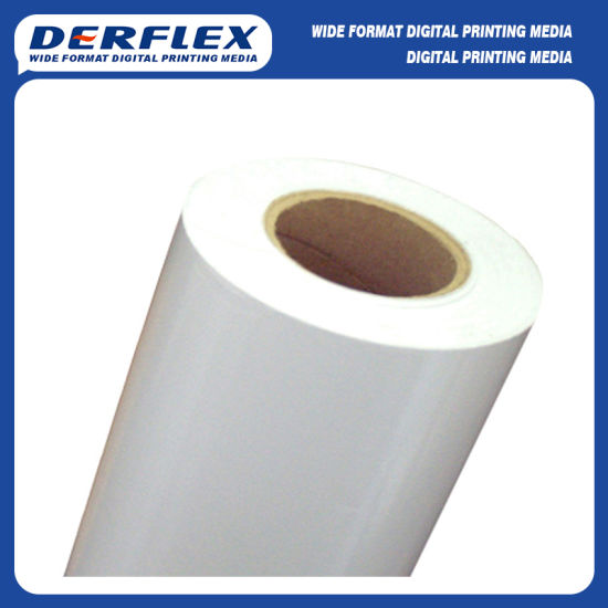 Latex Print White PVC Self Adhesive Vinyl Media pictures & photos