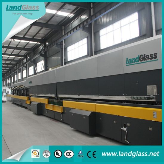 Landglass Horizontal Force Convection Glass Tempering Furnace Machine pictures & photos