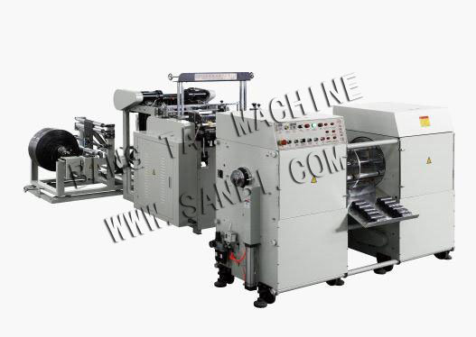 Automatic Garbage Bag Making Machine with Coreless Winder pictures & photos