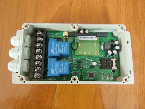 GSM Relay Switch Remote Control Box (GSM-CTL)