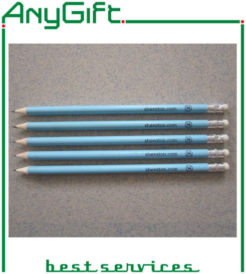 Wooden Pencil with Customized Logo and Color 26 pictures & photos