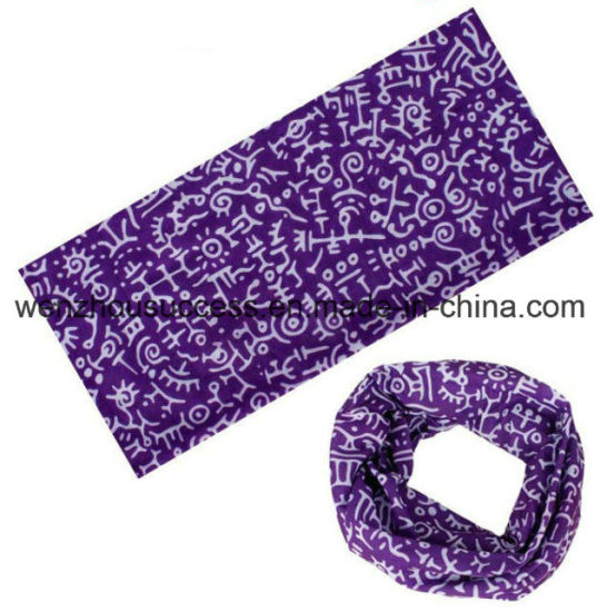 Seamless Multifunctional Magic Headwear Bandana
