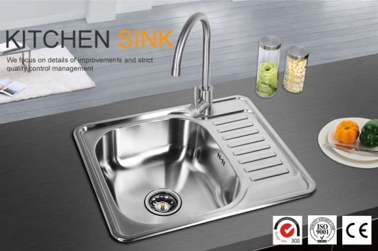 China Stainless Steel Undermount Kitchen Sink with Drainer - China ...