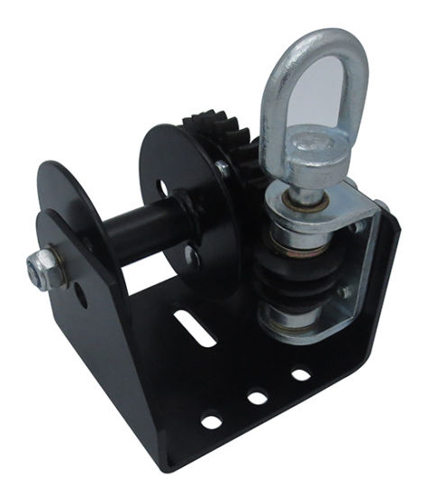 Worm Gear Winch, 1200lb. Cable/Strap Optional, H-12WG