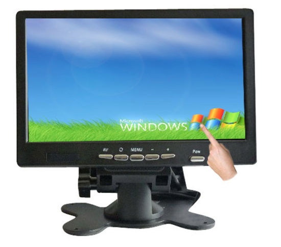 7 Inch VGA Input Touch Screen Monitor TFT LCD With USB