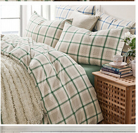 100% Cotton Nordic Style Bedding Sheet Set (T48) pictures & photos