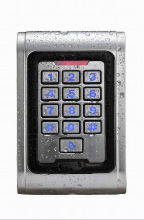 Waterproof Metal Standalone Access Control