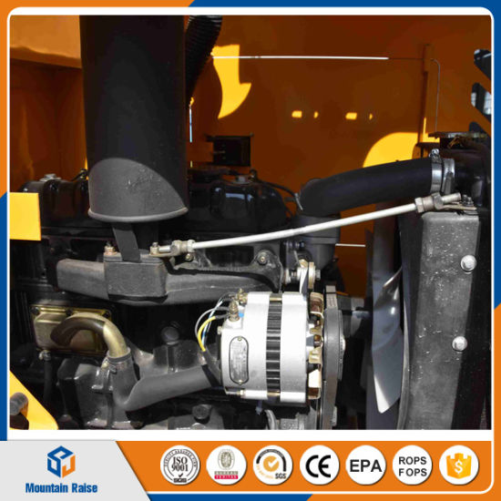 Small Avant Wheel Loader Parts with 4 in 1 Bucket pictures & photos