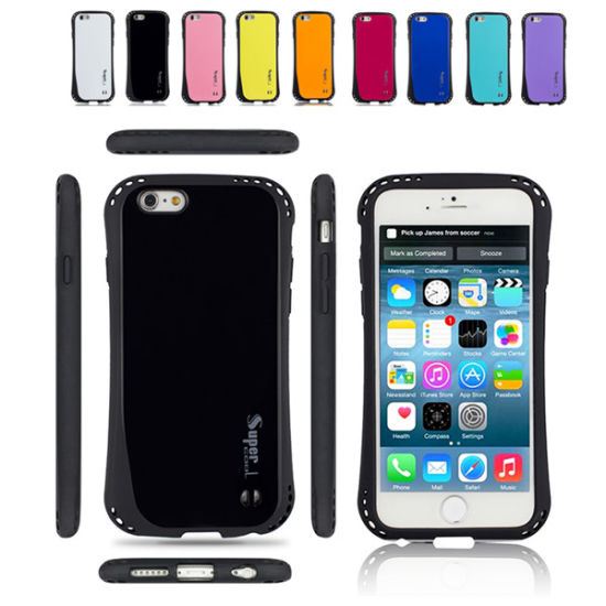 TPU PC Hybrid Cool Armour Hard Case for iPhone 6/6plus pictures & photos
