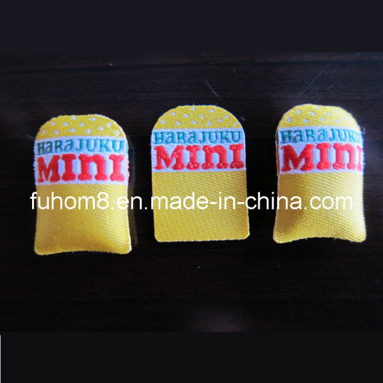 Professional Quality Cotton-Filling Woven Label for Garment