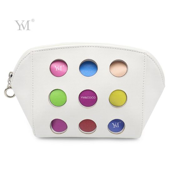Colorful Customize Logo Hollow out White Cosmetic Makeup Bag
