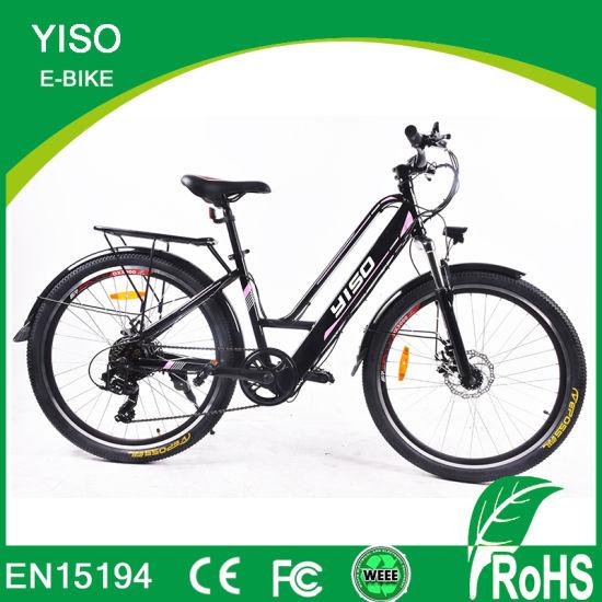 26 Inch 6 Speed New Style Popular Steel City Electric Motor Bike