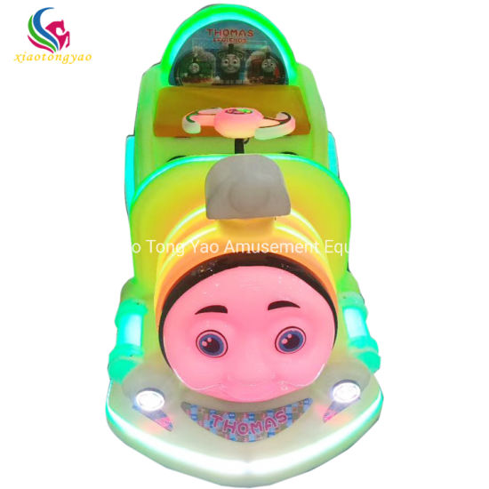Shopping Mall Amusement Ride Coin Operated Electric Kids Bumper Car