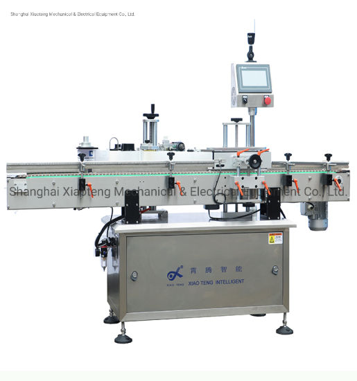 Xiaoteng Well Known Brand Automatic Plastic Glass Bottle Wrapping Round Bottle Can Labeling Machine