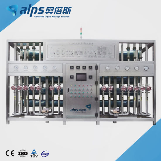 Automatic Pure Mineral Water Reverse Osmosis Water Treatment Plant