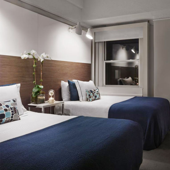 Professional Custom Top Sale Newest Morriott Oak Timber Hotel Furniture