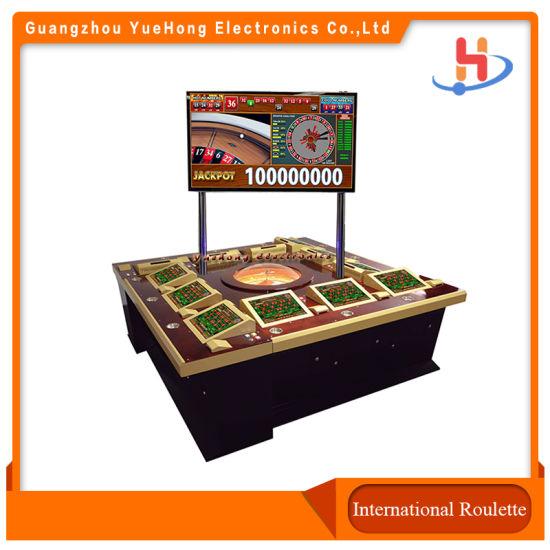 Electronic Casino Roulette Machine/ Adult Game Machine