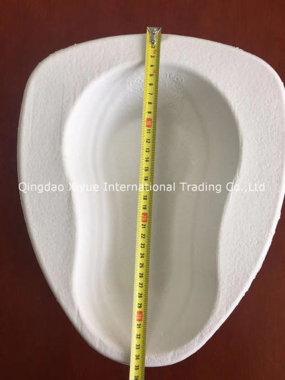 Disposable Paper Pulp Bedpan Liner Stool Basin Product