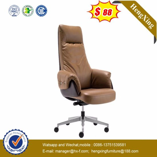 High Back Genuine Leather Hight Quality Executive Office Chair (NS-955A) pictures & photos