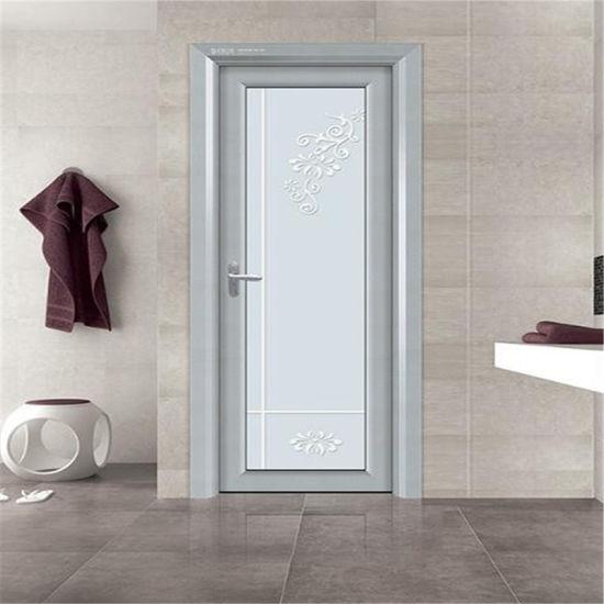 China Aluminum Bathroom Door Design Swing Door Pvc Bathroom Plastic Door China Aluminum Swing Door Double Layer Aluminum Door