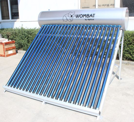 High Pressure Integrated Heat Pipe Solar Water Heater pictures & photos