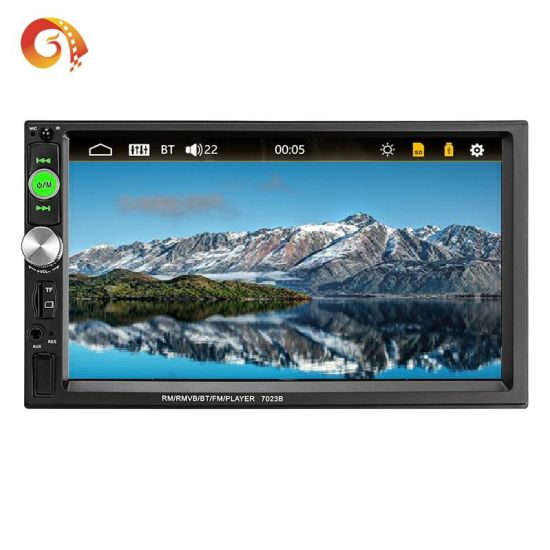 Car GPS FM Stereo Radio MP5 Player Touch Screen Bluetooth DVD Play