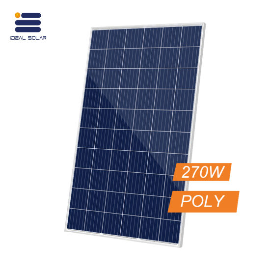 60cells Poly PV Module Wholesale Price List 255W 260W 270W Solar Panel