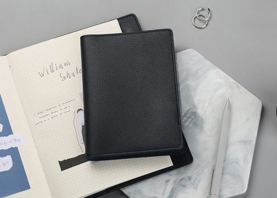 Wholesale Free Sample Cheap Promotional Hardcover A4 A5 Size PU Notebook