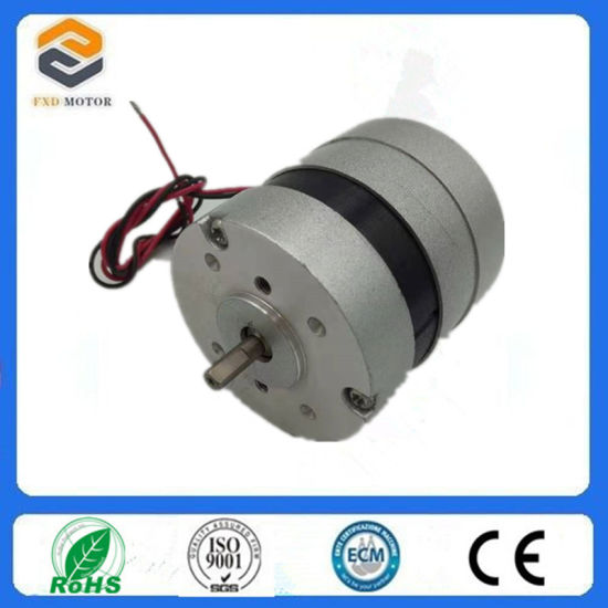 3 Phase NEMA23 Brushless DC BLDC Gear Electric Motor for Textile Machine, CNC
