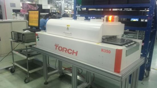 Torch IGBT Worldwide Min Heating Zone Lead Free Desk Six Temperature Zone Welding Reflow Oven pictures & photos