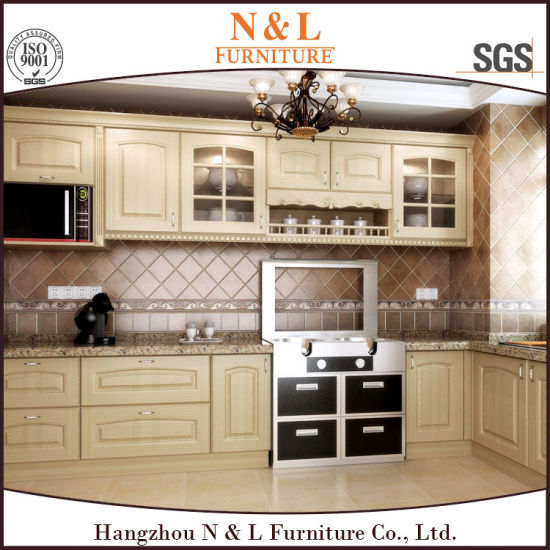 N L Tulipwood Solid Wood Kitchen Cabinets For North America