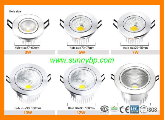 Indoor LED Downlight for Home Buliding pictures & photos