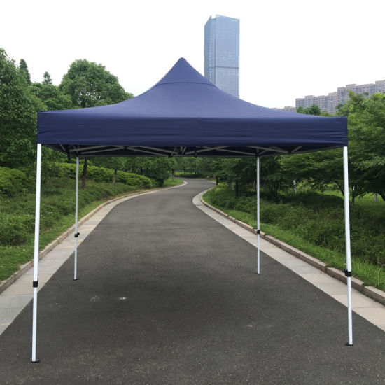 3X3m Navy Outdoor Steel Pop up Gazebo Folding Tent pictures & photos