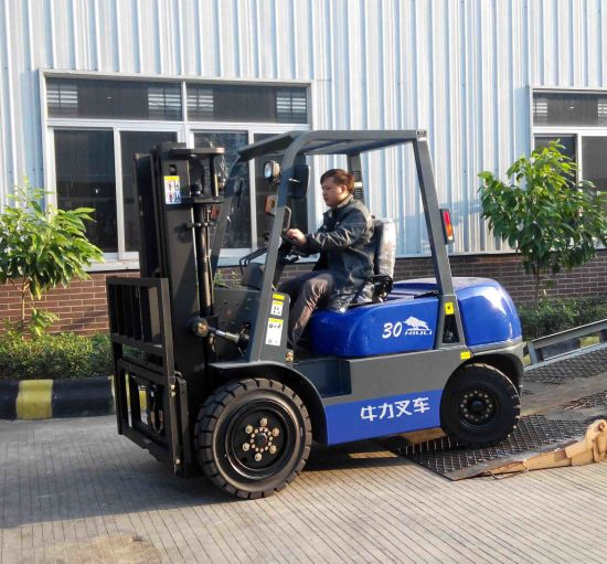 Diesel Forklift with Isuzu Engine and Side Shifter pictures & photos