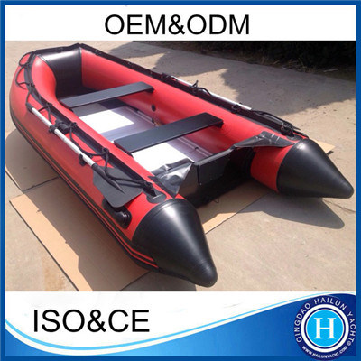 300cm PVC Inflatable Boat with Aluminum Deck