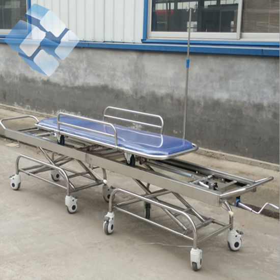 Factory Direct Price Hospital Hydraulic Patient Transfer Trolley pictures & photos