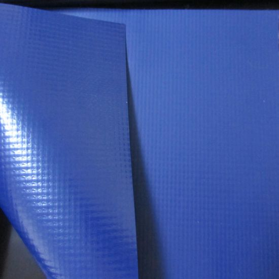 Teslin Fabric Lacquered Blockout Vinyl for Dock Seals Factory Supply pictures & photos