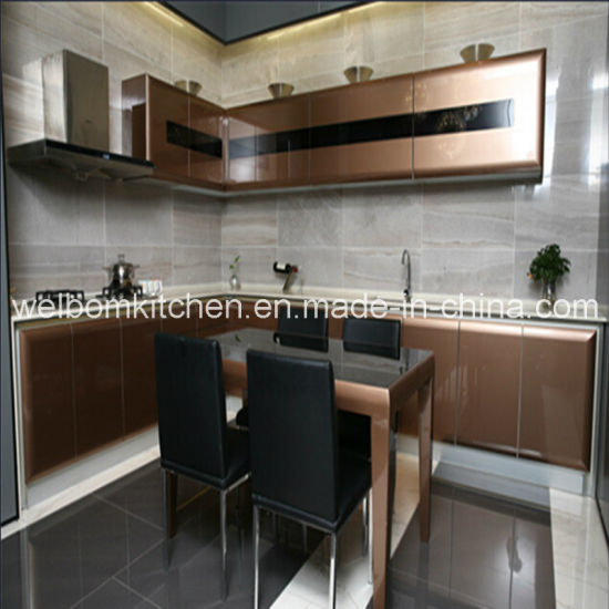 China Welbom Modern Ready To Assemble Kitchen Cabinet With Frosted