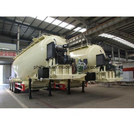 Transport Flour Bulk Powder Tank Cement Tank Truck Trailer