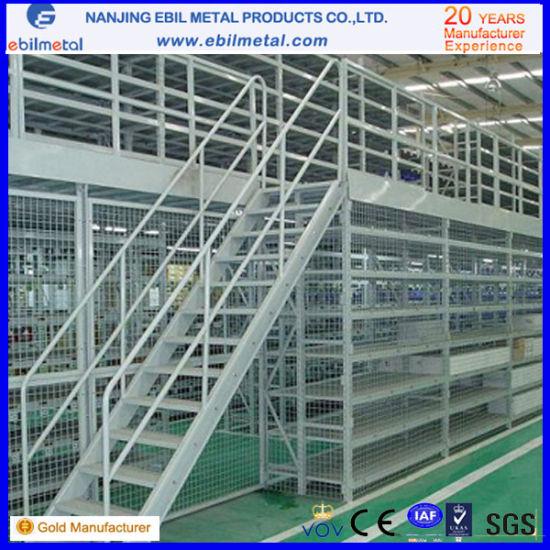 Wlidly Use Steel Q235 Warehouse Metal Mezzanine Rack&Mezzanine Floor System